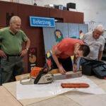 RepairCafe reparatie motorzaag